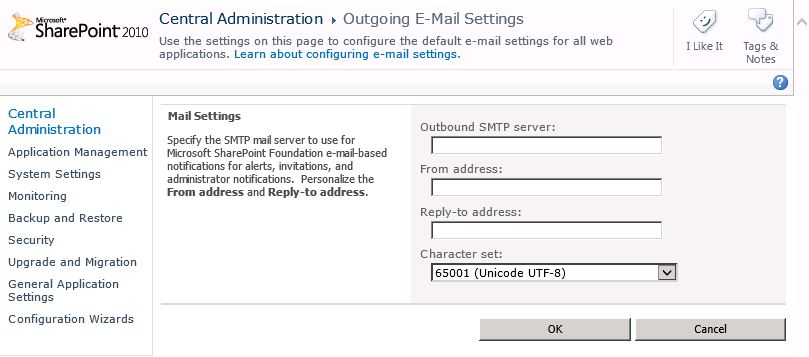 SMTP Address